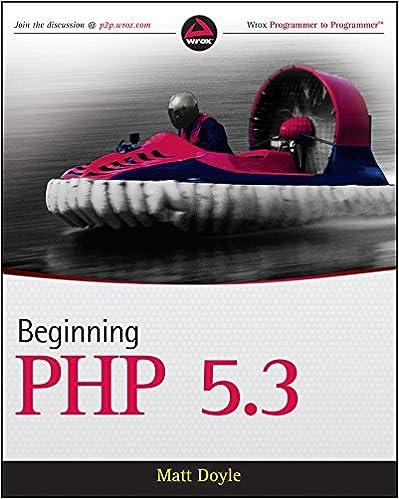 beginning php 53 doyle matt