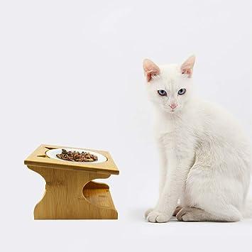 Amazon.com: Petilleur Cuencos Elevados para Mascotas con ...