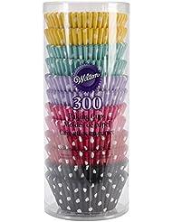 Wilton 415-2286 300 Count Polka Dots Standard Baking Cups