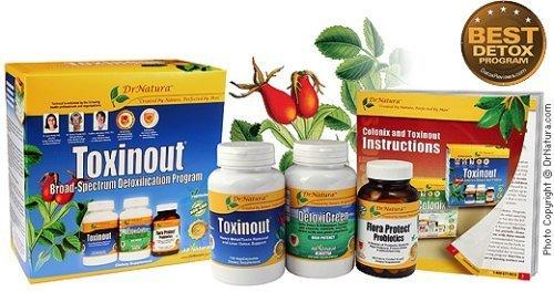 Dr. Natura Toxinout Liver & Kidney Detoxification Kit!