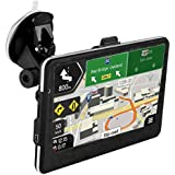 GPS Navigation for Car,CCsky Car GPS Updated 7 Inch 800x480 LCD Touch Screen GPS Navigation Stereo System with 8GB Memory,Car Vehicle Electronics Lifetime Maps for Safe Driving