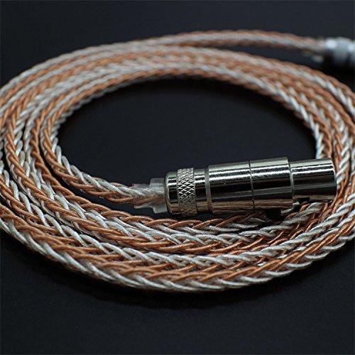 PCCITY Q701 K702 K271S K271 K141 K171 K181 MKII K240S K240 MK2 Pioneer HDJ-2000 ヘッドホン 対応用 ケーブル ヘッドフォン リケーブル 6N OCC ケーブル ミニXLR-3.5mm (単結晶銅) 単結晶銅  B077HHZ8NF