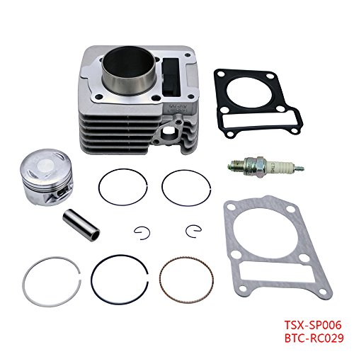 FLYPIG Cylinder Piston Rings Top End Set Kit Fits Yamaha TTR 125 TTR125 TTR-125 2000 2001 2002 2003 2004