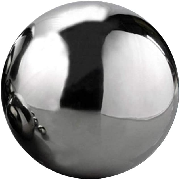 Bolas de Acero Inoxidable Espejo Hotel Esfera Hueca Flotante para decoraci/ón del hogar jard/ín Globos de Espejo sin Costuras 80 mm Baile Bola Show