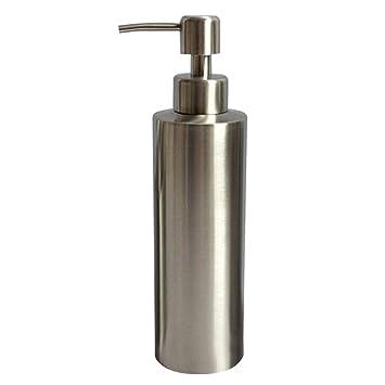 iBaste Edelstahl Seifenspender Liquid Flasche Shampooflasche für ...
