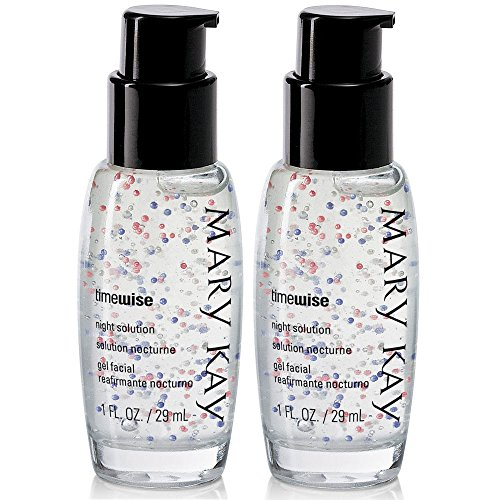 Day Solution Night - Mary Kay TimeWise Anti-Aging Night Solution 1.0 fl. oz / 29 mL (2-Pack)
