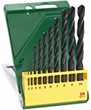Bosch DIY 10tlg. Metallbohrer-Set HSS-R rollgewalzt