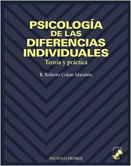 Psicología de las diferencias individuales: Teoría y ...