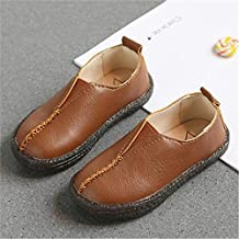 spyman New Spring Children Leather Shoes Baby Student Casual Moccasins Toddler Flats Boys Girls Loafers Kids Single Shoes 1A