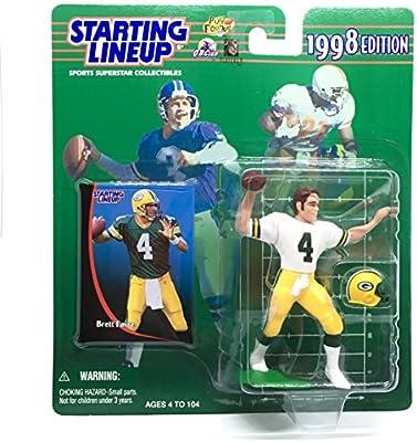 Starting Lineup 1997 NFL Brett Favre figurine and card