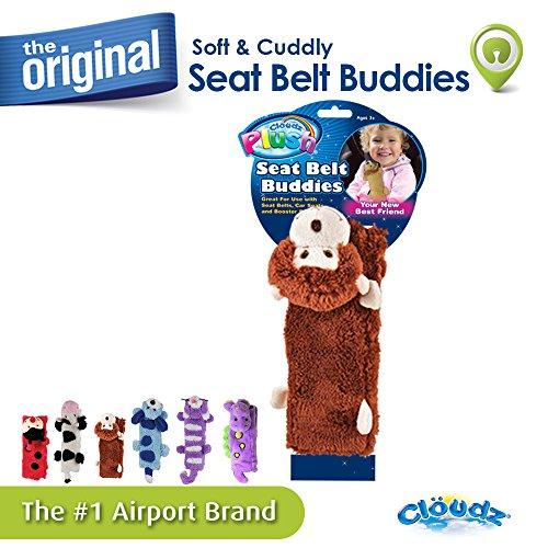 Cloudz Seat Belt Buddies - Monkey (Buddy Monkey)