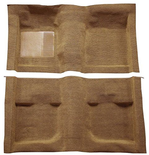 1971 to 1973 Mercury Cougar Carpet Custom Molded Replacement Kit, Coupe (801-Black Plush Cut Pile)