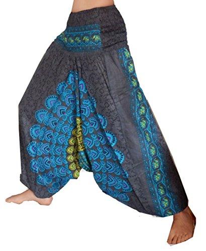 Lotus Moon - Pantalón - para mujer azul oscuro