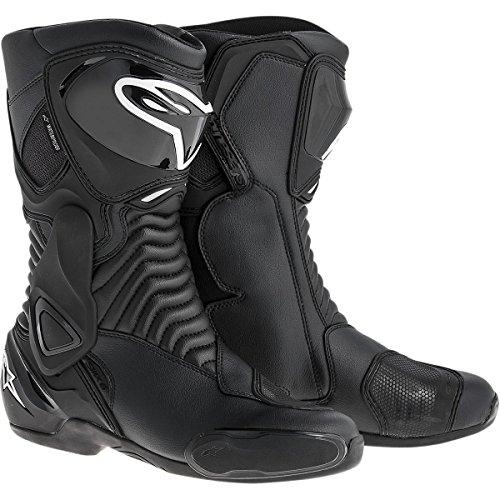 Alpinestars SMX-6 Waterproof Men's Motorcycle Street Boots (Black, EU Size 36)