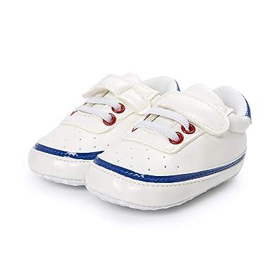 7859194c6e54b DOTBUY Chaussures Enfants Garçons Filles Bébés Unisexe, Bébé garçon Filles  Doux Seul bébé Chaussures Sneakers