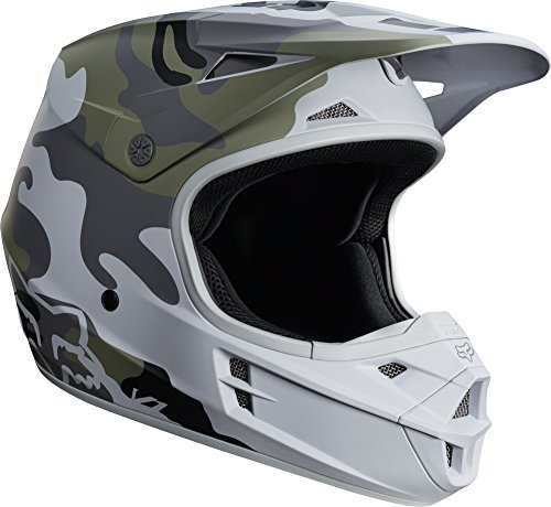 Race Small Helmet (Fox Racing V1 SD SE Youth Boys MX Motorcycle Helmets - Camo / Small)