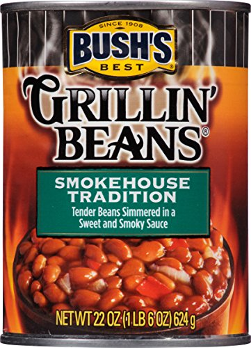 Bush's Best Grillin' Beans Smokehouse Tradition Baked Beans,