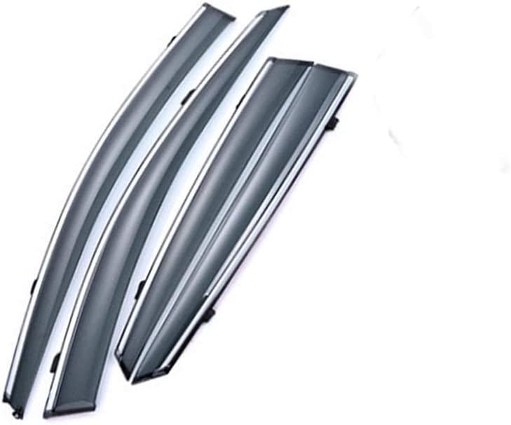 for Mazda 3 Axela 2014-2019 Smoke Deflector Sun Rain Visor Guard Wind Deflectors Car Styling Front Rear Shade Vent Window
