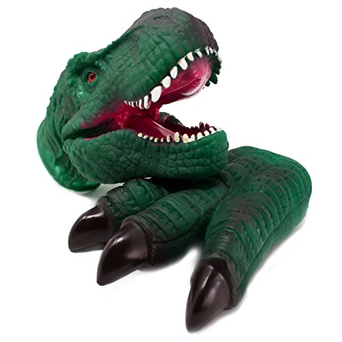Boley Dinosaur Claw and Head - Dinosaur Toy Glove Costume Great for Dinosaur Hand - Head Only Puppet