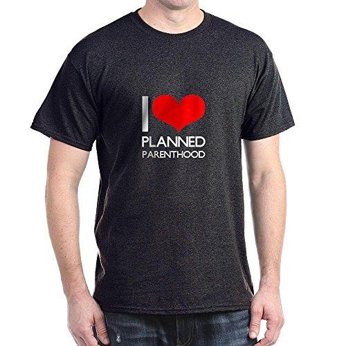CafePress Heart Planned Parenthood – 100% Cotton T-Shirt