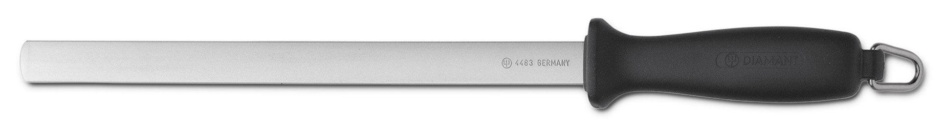 Wusthof 4483 10-Inch Diamond Sharpening Steel, Wide