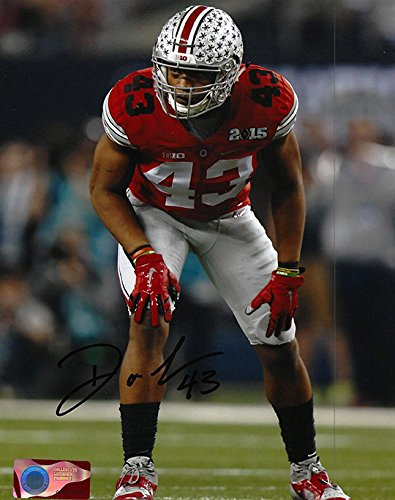 Darron Lee Autographed Ohio State Buckeyes 8x10 Photograph - Certified Authentic - Autographed Photos