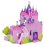 Melissa & Doug Pink Palace 3-D Puzzle (15 x 14.25 x 13 inches, 100+ pcs)