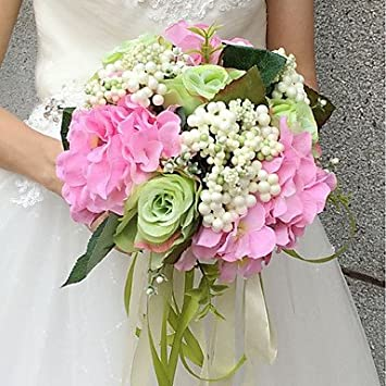Wanglele Hochzeit Blumen Blumenstrausse Hochzeit Seide 9 84