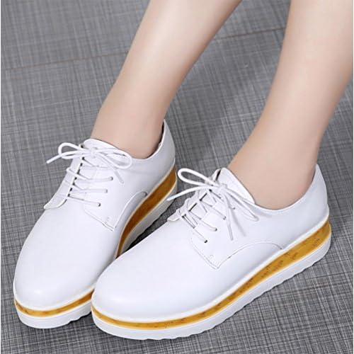 5d6bbc90c29 Mme Spring chaussures d ascenseur pente avec une croûte épaisse chaussures  Mme chaussures de muffins