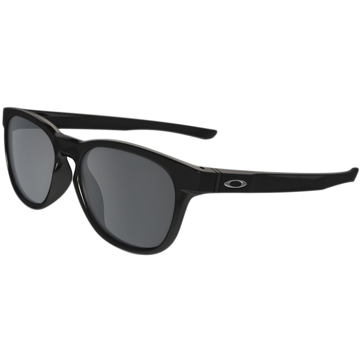 Oakley Stringer Sunglasses, Polished Black/Black Iridium