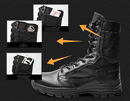 Uomini Allacciare Stivali Tattici Stivali Militari Ultra Leggeri Stivali Desert Stivali Alti Traspiranti