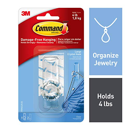 Command 17096CLR-EF Crystal Hook, Large, Clear, 1 Hook for sale  Delivered anywhere in Canada