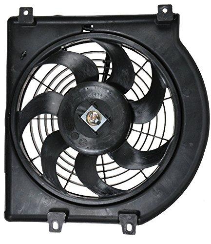 Honda Passport A/c Condenser - AC A/C Condenser Radiator Cooling Fan Assembly for Rodeo Passport Amigo Axiom