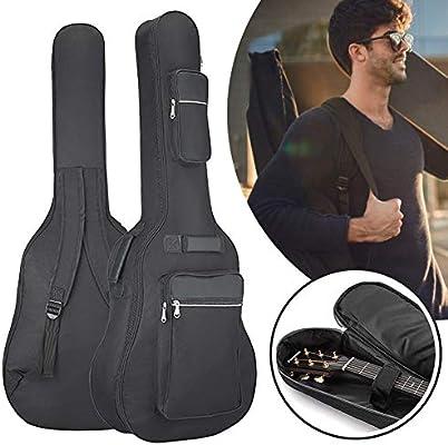 ZATMTJDSB Oxford tela guitarra bolsa suave bandolera guitarra ...