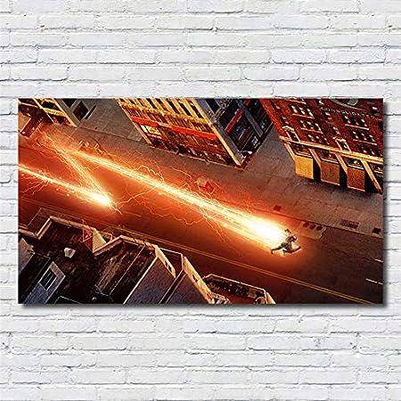 XWArtpic Cartel clásico de la película de superhéroes Flash ...