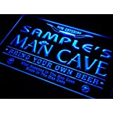 pb-tm Name Personalised Custom Man Cave Beer Bar Neon Light Sign