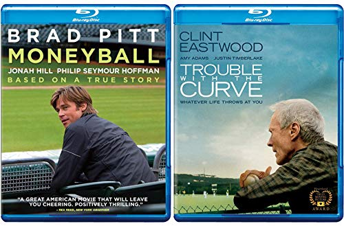 ouble Feature: Moneyball & Trouble With The Curve 2 Blu Ray Double Feature (Brad Pitt/ Clint Eastwood) ()