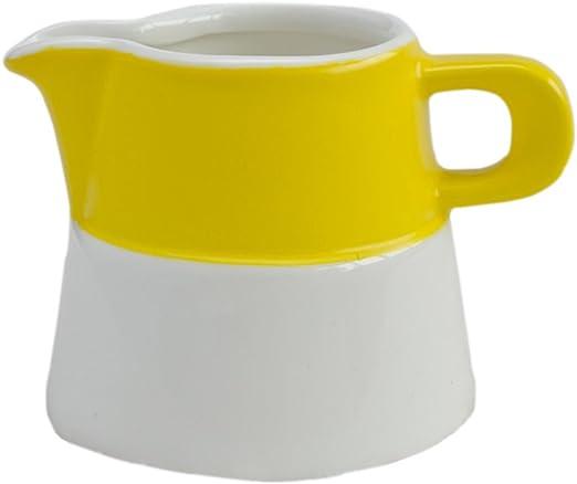 Amazon.com: Colorido taza de cerámica, diseño de caño jarra ...