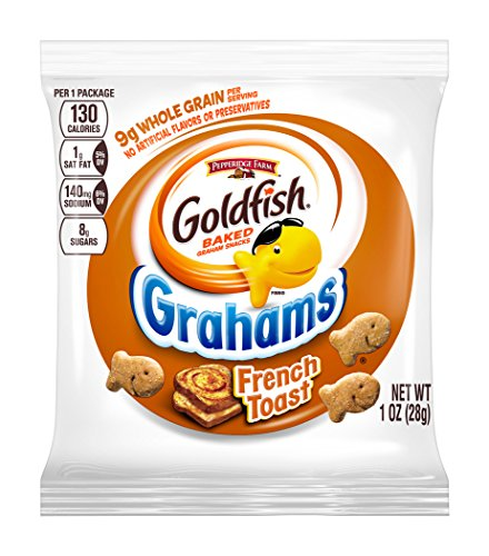 Pepperidge Farm Goldfish Grahams Baked with Whole Grain French - French Wheat Whole Toast