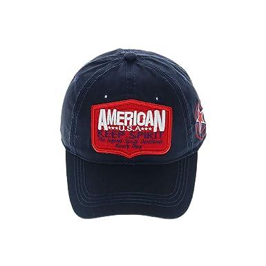 Gorras de Hombre Beisbol Algodón Unisexo Gorra de Deporte Sombrero ...