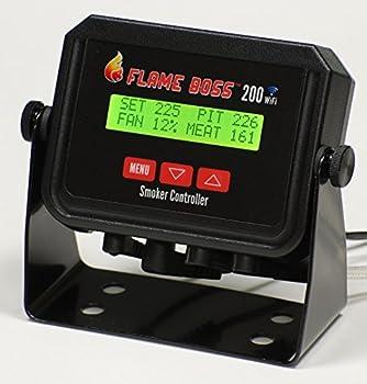 Flame Boss 200 WiFi Kamado Grill & Smoker