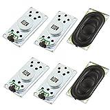 Aexit 6 Pcs Notebook Audio Magnetic Speaker Loudspeaker 2W 8 Ohm