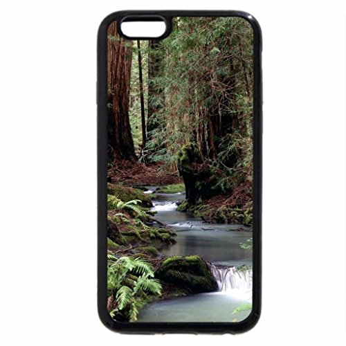 iPhone 6S Case, iPhone 6 Case (Black & White) - FOREST OF THE GIANTS