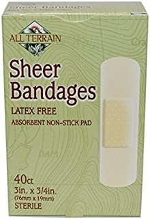"""product image for Bandage, Sheer 3/4"""" X 3"""", 40 pc ( Multi-Pack)"""