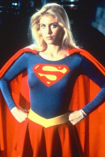 Helen Slater Supergirl Costume Rare 24X36 Poster ()