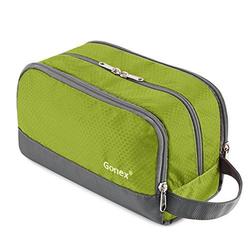 Travel Toiletry Bag Nylon, Gonex Dopp Kit Shaving Bag Toiletry Organizer ()