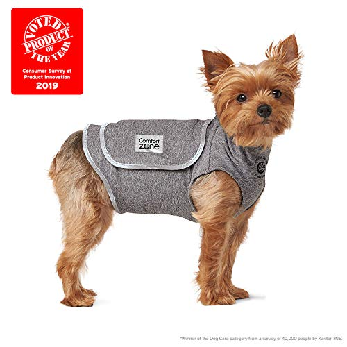 Comfort Zone Calming Vests for Dogs, for Thunder & Anxiety, x Small (14-19' Chest)