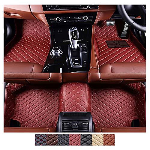 Zmkar Technology Custom Made Car Floor Mats Fit for BMW X6 E71 2008-2013 All Weather Car Floor Liner Carpets (wine red…