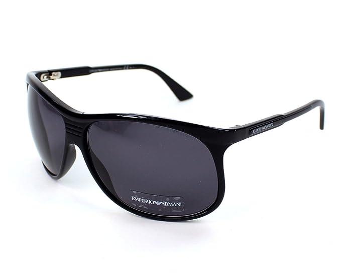 Emporio Armani Gafas de sol 9718/S - D28/Y1: Negro brillante ...