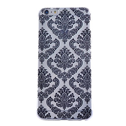 "HYAIT® For IPHONE 6 PLUS 5.5"" [XXG 17V2]Scratch-Proof Ultra Thin Rubber Gel TPU Soft Silicone Bumper Case Cover -BKI08"